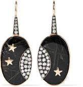 Andrea Fohrman 14-karat Gold Multi-stone Earrings - one size