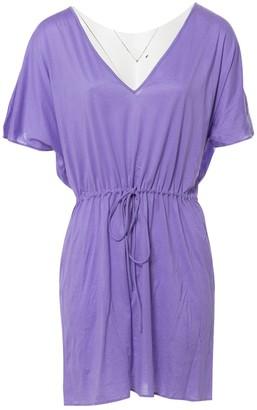 Eres \N Purple Cotton Dresses