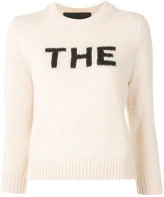 Marc Jacobs The intarsia-knit sweater