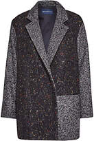 French Connection Fast Terence Tweed Patch Coat, Multi