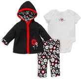 Offspring Infant Girls' Mod Floral Three Piece Knit Set - Sizes 3-12 Months