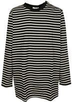 Faith Connexion Stripe Sweatshirt