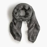 J.Crew Jacquard oversized scarf