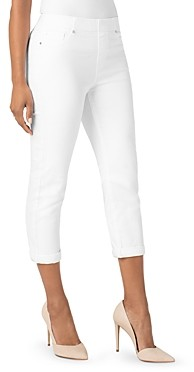 Liverpool Los Angeles Chloe Slim Capri Jeans in Bright White