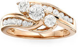JCPenney MODERN BRIDE Love Lives Forever 1 CT. T.W. Diamond 10K Rose Gold Ring