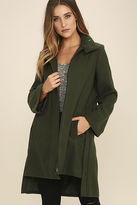 The Fifth Label The Elixir Olive Green Coat