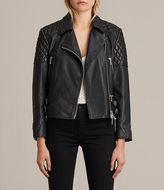 AllSaints Ainsdale Leather Biker Jacket