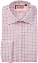 Thomas Pink Molyneux Slim Fit Graph Check Dress Shirt