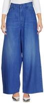 (+) People + PEOPLE Denim pants - Item 42632082