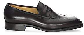 Sutor Mantellassi Men's Olimpo Leather Penny Loafers