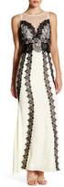 Minuet Lace Detail Maxi Dress