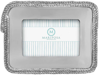 "Mariposa Rope Statement Frame, 4"" x 6"""