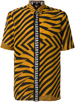 Versus striped T-shirt - men - Silk - S
