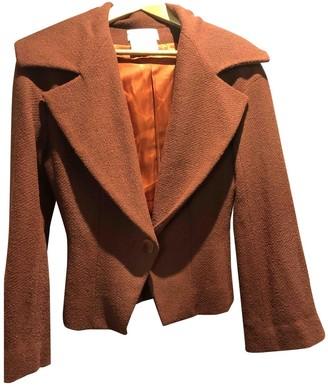 Givenchy Orange Wool Jackets