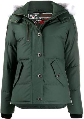 Moose Knuckles 3Q hooded down jacket