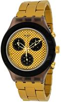 Swatch Desert Sands Collection SVCM4010AG Men's Analog Watch