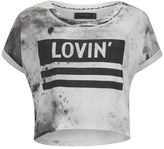 Religion Women's 'Lovin Religion' TShirt - White/Black