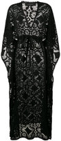 Celia Dragouni lace kaftan dress