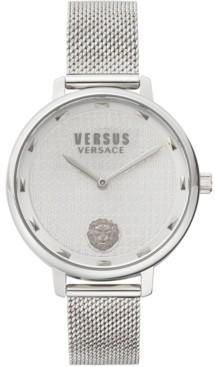 Versus By Versace Women's La Villette Stainless Steel Mesh Bracelet Watch 36mm
