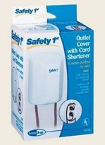 Safety 1st Outlet Cover with Cord Shortener by