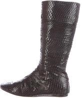 Jenni Kayne Snakeskin Knee-High Boots