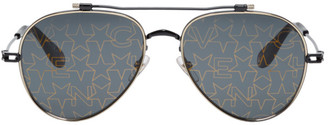 Givenchy Black GV 7057/S Gold Stars Sunglasses
