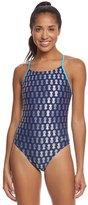 Sporti Pineapple Foil Micro Back Swimsuit 8132854