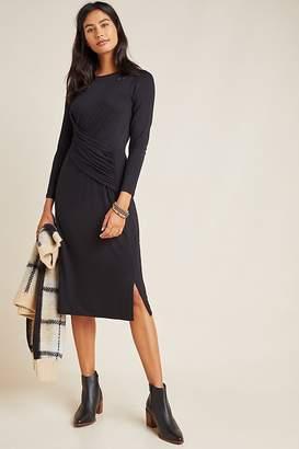 Anthropologie Sydney Ruched Midi Dress
