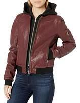 Soia & Kyo Women's Farica-N Ladies Leather Jacket