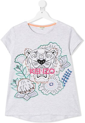 Kenzo TEEN logo print T-shirt