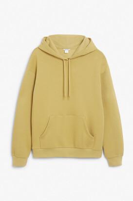 Monki Soft drawstring hoodie