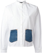 Diesel denim pocket shirt - women - Cotton - M