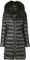 Herno fur-lined parka - women - Feather Down/Fox Fur/Polyamide - 40