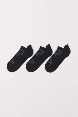 H&M 3-pack Sports Socks - Black