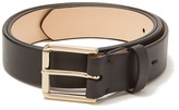 Paul Smith Slim burnished-leather belt