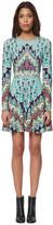 Mara Hoffman Long Sleeve Mini Skater Dress