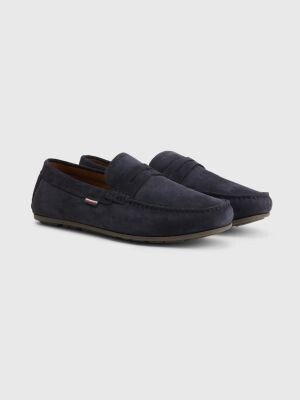 Tommy Hilfiger Suede Cutout Drivers