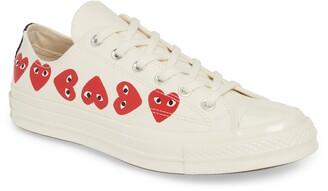 Comme des Garcons x Converse Chuck Taylor(R) Low Top Sneaker