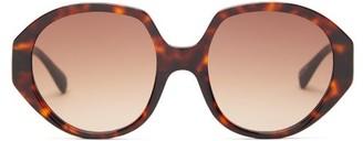 KALEOS Paley Round Tortoiseshell-acetate Sunglasses - Tortoiseshell