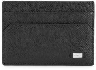Bally Money Clip Leather Card Case
