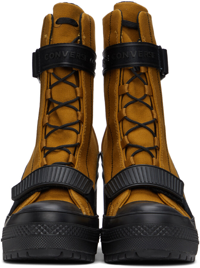 Thumbnail for your product : Converse Tan Canvas Utility Chuck Taylor All Star GR 82 Boots