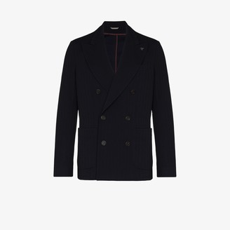 Canali Double-Breasted Blazer Jacket