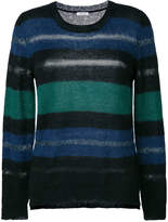 P.A.R.O.S.H. striped crew neck sweater