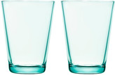 Iittala Set of 2 Kartio Tumblers - Water Green 7 oz