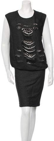 Jay Ahr Embellished Dress w/ Tags