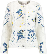 Peter Pilotto Blizzard jacquard-knit jacket