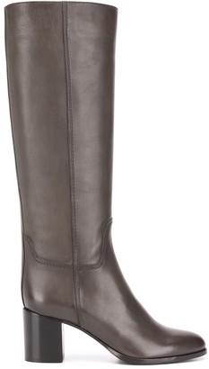 Santoni Leather Boots