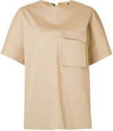 Josh Goot Utility T-shirt - women - Cotton/Spandex/Elastane - XS