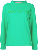 Eckhaus Latta - printed sweatshirt - women - Cotton - S