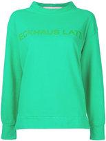 Eckhaus Latta printed sweatshirt